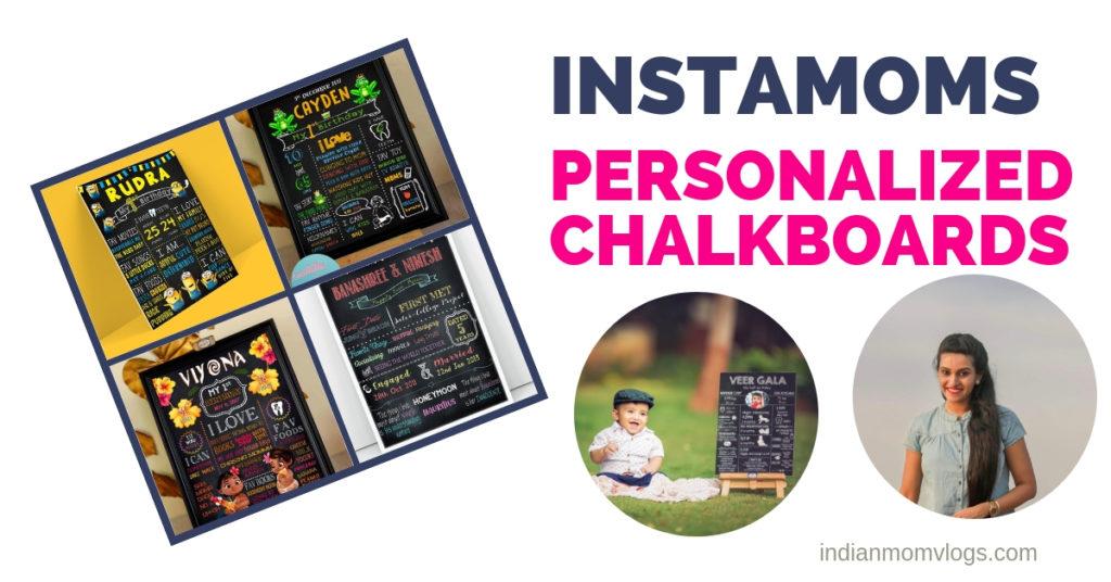 Instagram Business Moms Personalized Chalkboard