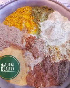 A traditional bathpowder – The UBTAN also called as Nalangu Maavu used by men, women and kids above 4years of age which can be used instead of chemical soaps and also as a body scrub.