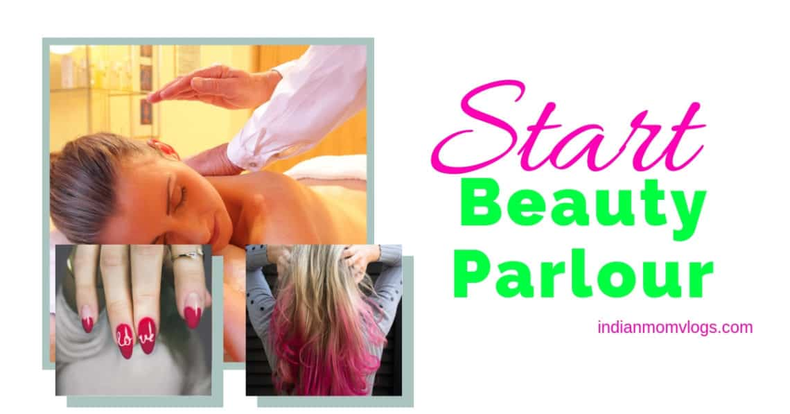 start beauty parlour in india